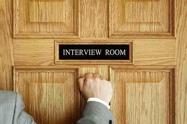 Interview Room Door